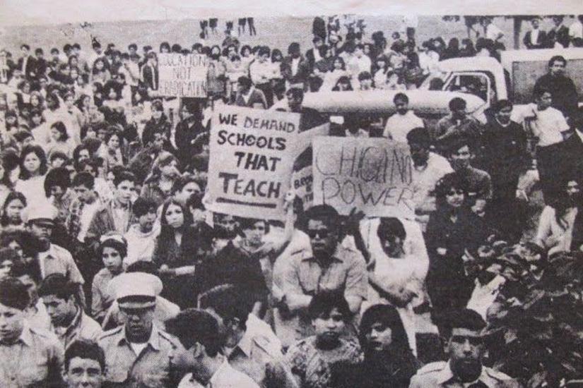 East LA Student Walkout